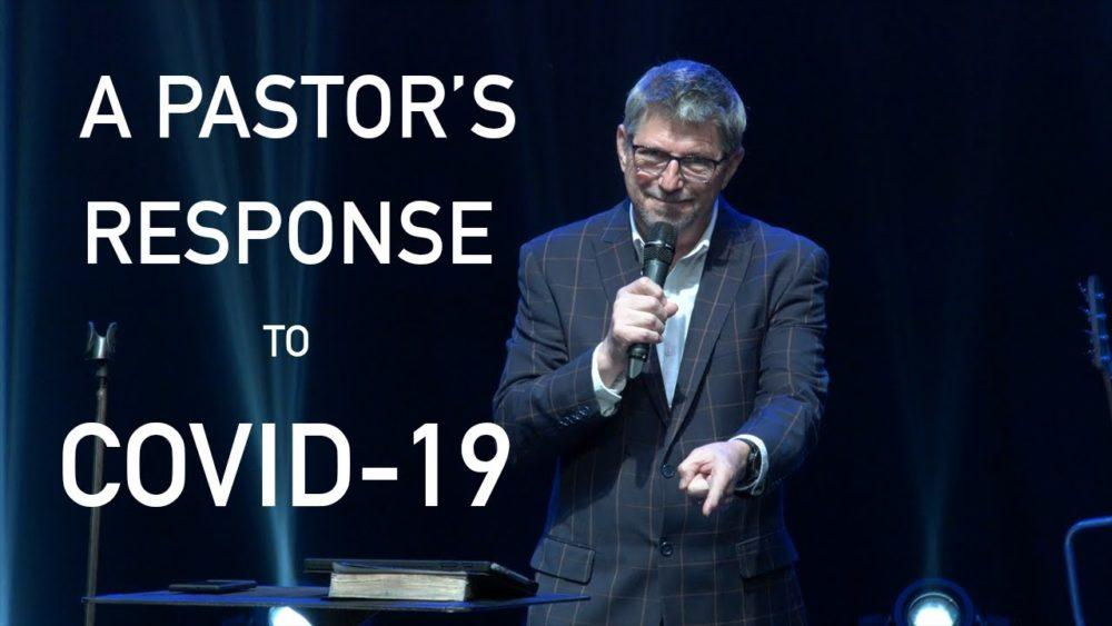 A Pastor's response to the COVID-19 virus Image