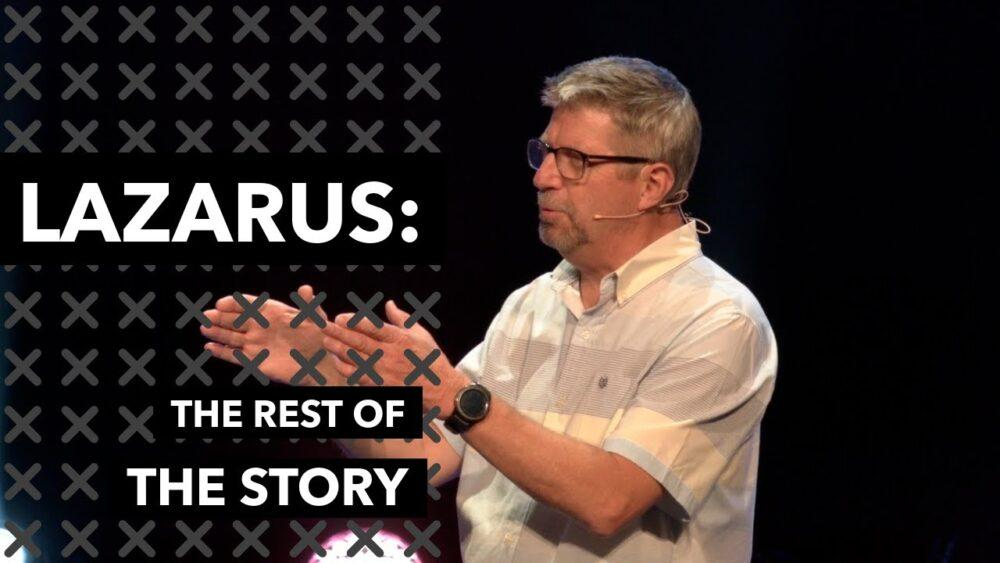 Lazarus: The Rest Of The Story Image